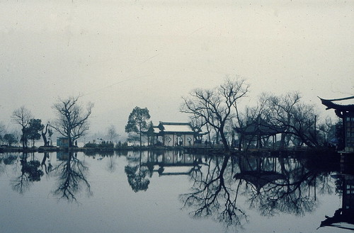 Tranquillity at West Lake 西湖  1984 | by kattebelletje