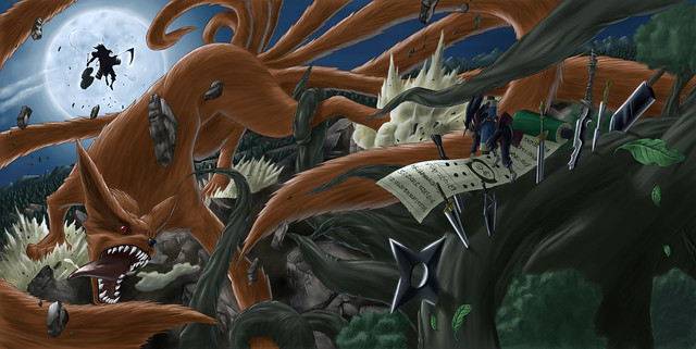 madara and the kyuubi vs shodai sit back and watch the p flickr