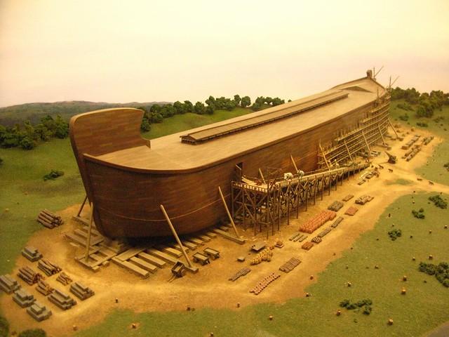 Noah S Ark Sheet Cake
