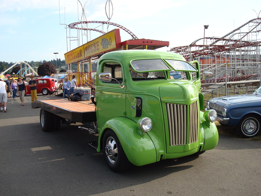 40's Ford COE Truck | From Puyallup Fair Good Guys car ...