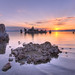 Sunrise on Mono lake