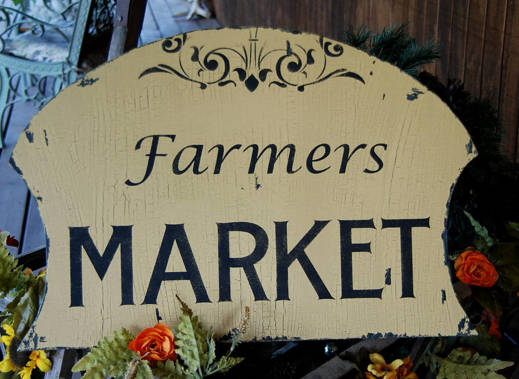 Permalink to Farmers Market Sign