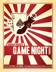 Game Night Flyer | by Masca Ridens