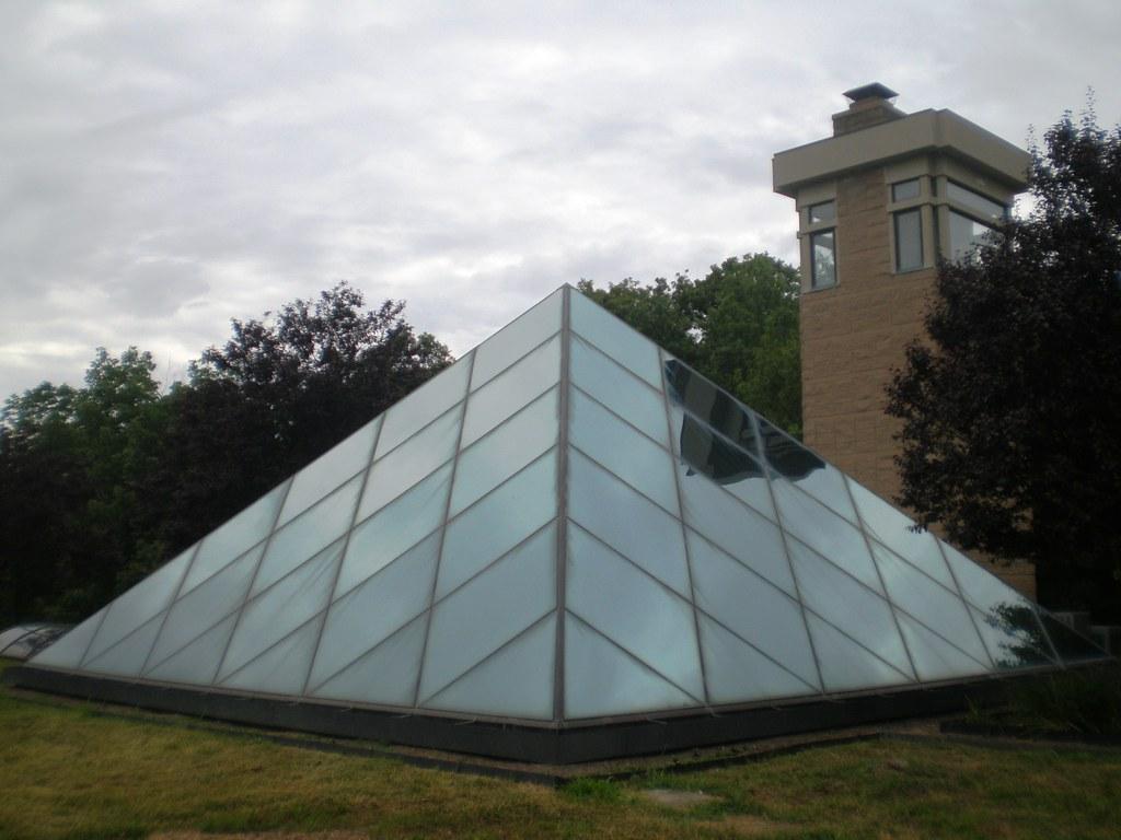 The Pyramid House Pyramid Hill Sculpture Park Hamilton O