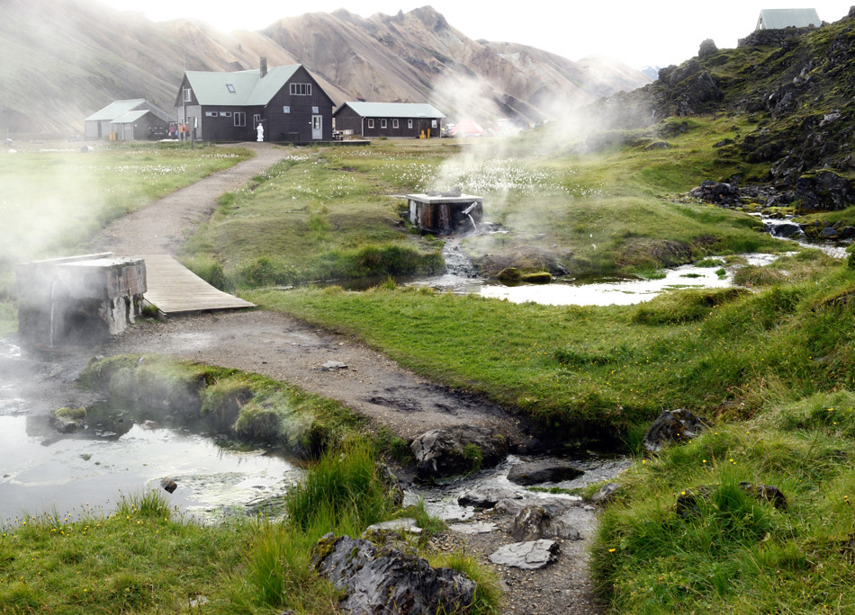 Landmannalaugar Hut Iceland This Is The Begining Of The Flickr