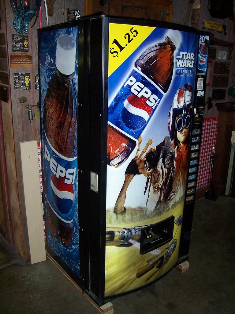 wars vending machine