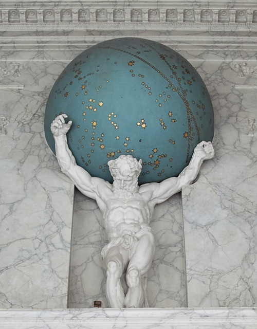 Image result for atlas holding the world