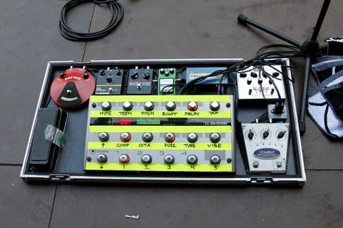 Soren S Pedal Board Including A G System From Tc Electron