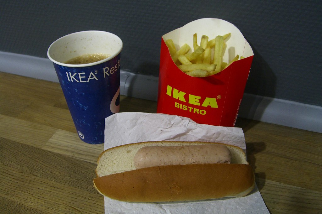 vegetarian hot dog meal at ikea mark hogan flickr. Black Bedroom Furniture Sets. Home Design Ideas