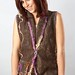 Felted Vest using Ozark Handspun