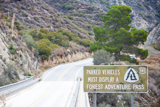 Parked Vehicles Must Display a Forest Adventure Pass | by Thomas Hawk