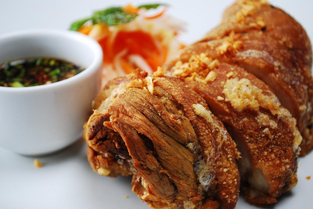 Boneless Crispy Pata Oceana Restaurant Culinary School