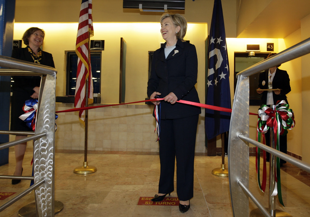 Secretary Clinton At US Embassy In Mexico City US Secr Flickr - Map of us embassies in mexico
