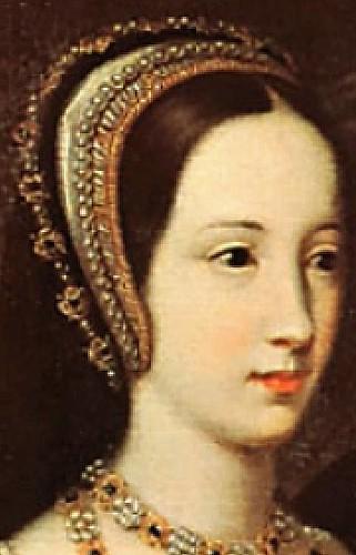 closeup of princess mary tudor duchess of suffolk from t