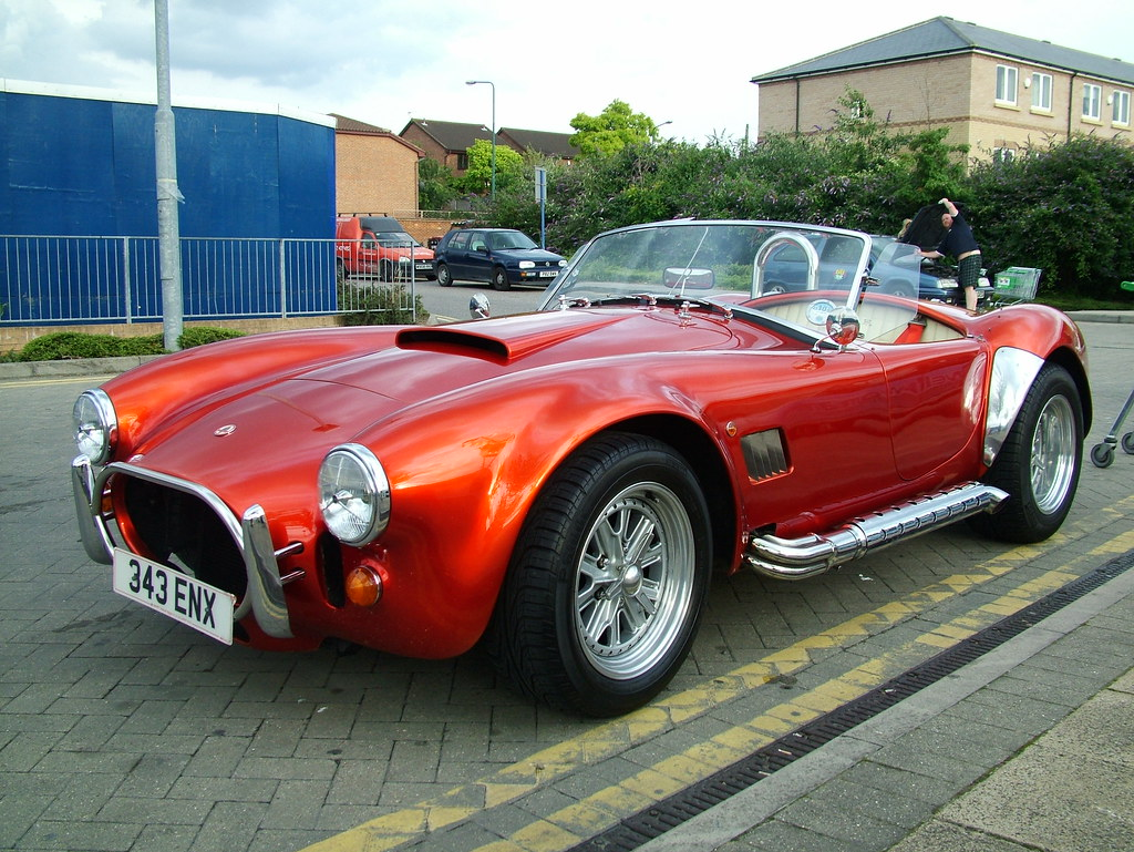 Ac Cobra Ak Sportcars 427 Ac Cobra Replica With A Rover Flickr