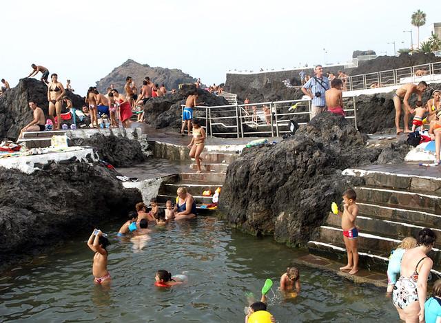 Vacaciones en tenerife 2009 piscinas naturales de garachi for Piscinas naturales
