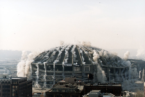 Kingdome implosion, 2000 | by Seattle Municipal Archives