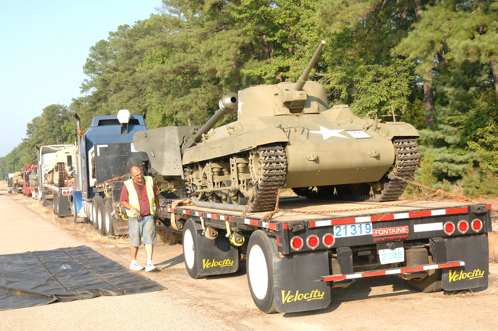 Ordnance On The Move The First Phase Of The Move Of The