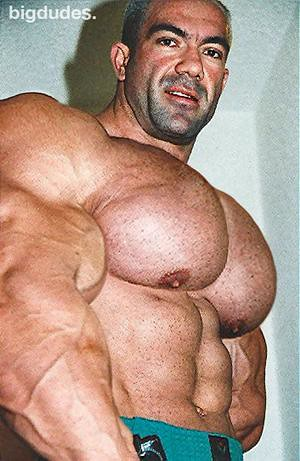 Huge male pecs morph accept. opinion
