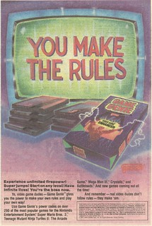 1992 Nintendo Game Genie ad | by Paxton Holley