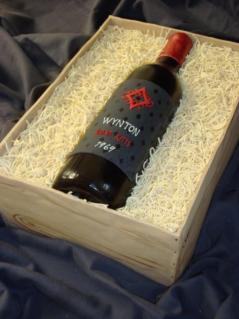 Birthday Wine Bottle Cake Haines Barksdale Flickr