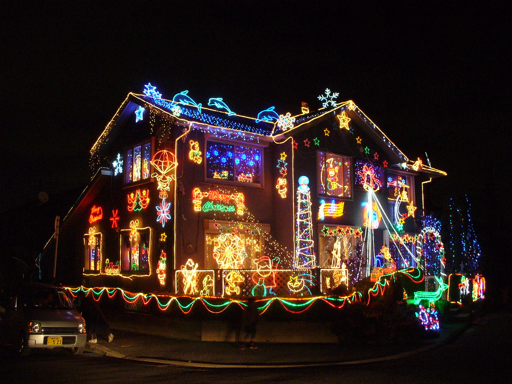 White House At Christmas >> Christmas illumination(クリスマスイルミネーション) | The house is near my… | Flickr