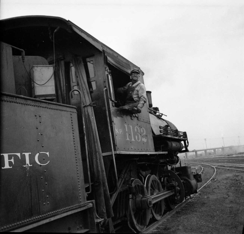 Northern Pacific Switcher, NP 1132, Seattle, WA