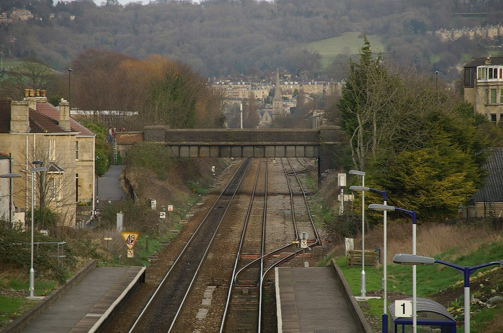 IMGP9918 Oldfield Park Railway Station In Bath Looking Ea Flickr