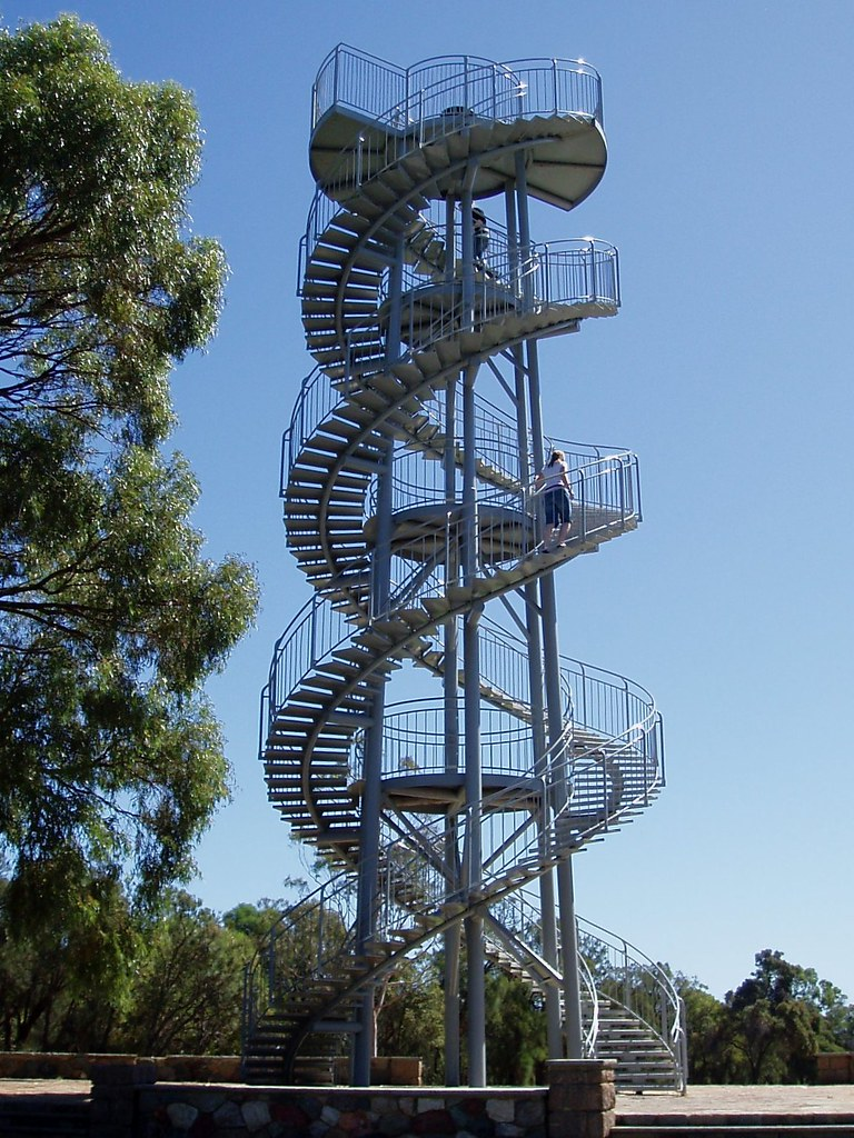 Double Helix Look Out Tower Kings Park Perth An