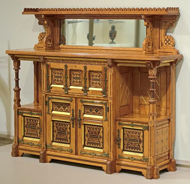 Wood Cabinet, By Charles Bevan, Made By Marsh And Jones, Lu2026 | Flickr
