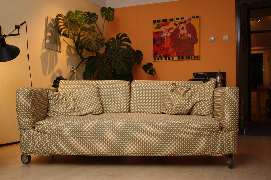 Old Couch New Look I Gave My Old Couch Ikea Falsterbo