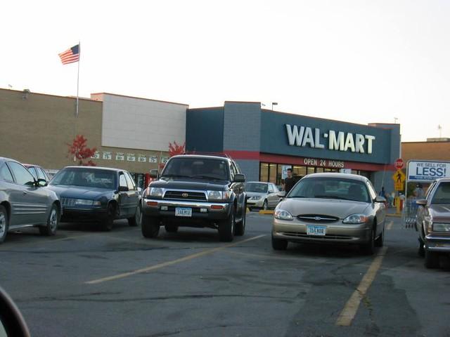 Wal Mart North Grand Ames Iowa Former Look 1985 20