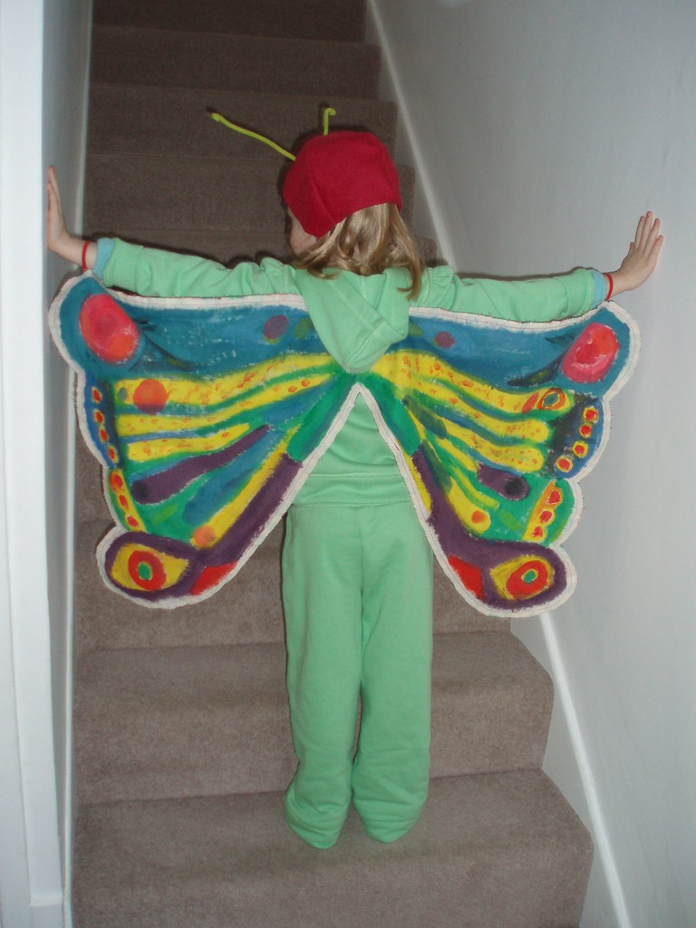 Very Hungry Caterpillar Butterfly Costume The Very Hungry...