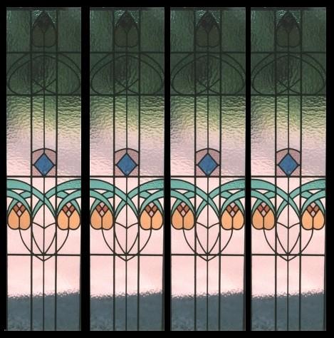 Photo for Art deco glass windows