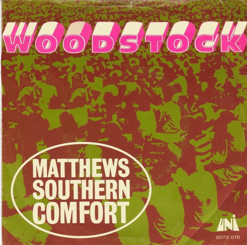 Matthews Southern Comfort Woodstock 1970 Klaus