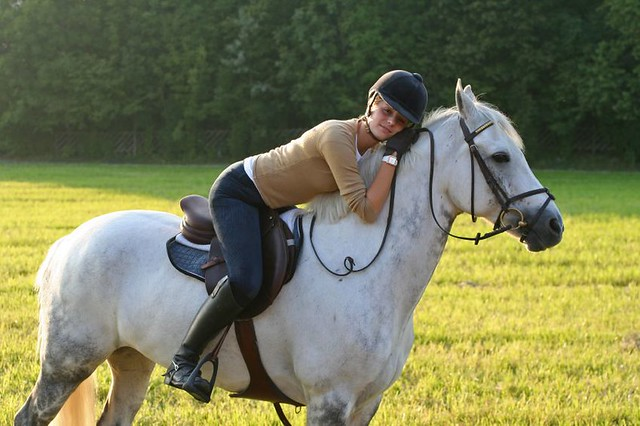 Girl Hugging Horse Girl Hugging Horse | by