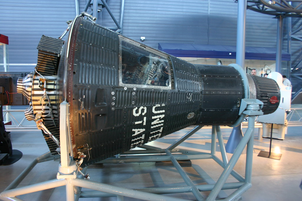 Mercury Capsule 15b Freedom 7 Ii Taken At The National