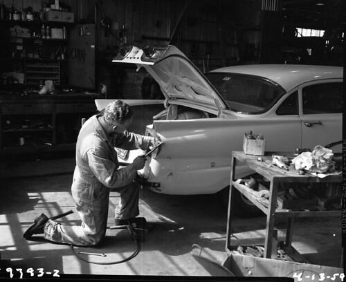 Mechanic At Charles Street Shops 1959 Item 60988