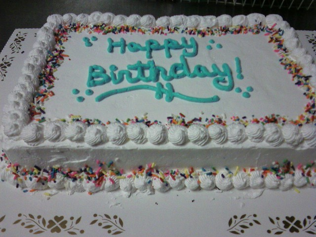 Rectangle Birthday Cake Mkennedy3687 Flickr