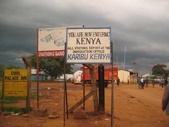 kenya border crossing ile ilgili görsel sonucu