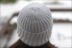 2x2 Ribbed Hat | by tiennieknits
