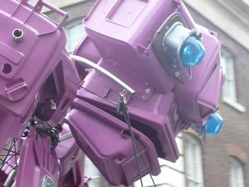 Robot Close Up - London New Year's Parade | by Jon Curnow