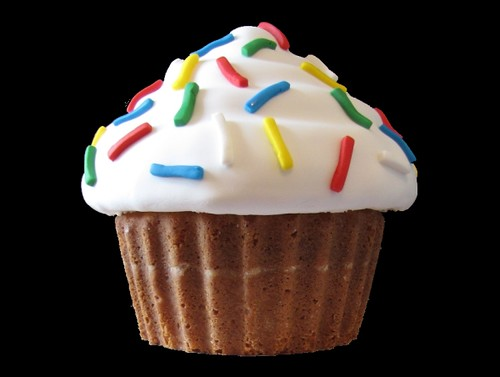 Giant Vanilla Cupcake Giant Vanilla Cupcake Filled With