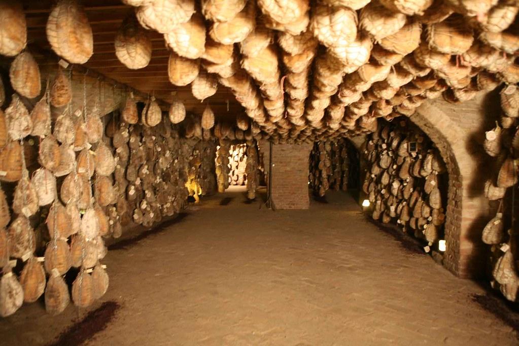 Parma Ham Cave When Aging Parma Hams Producers Hang