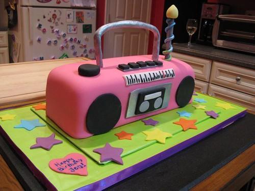 Boombox Cake Ideas