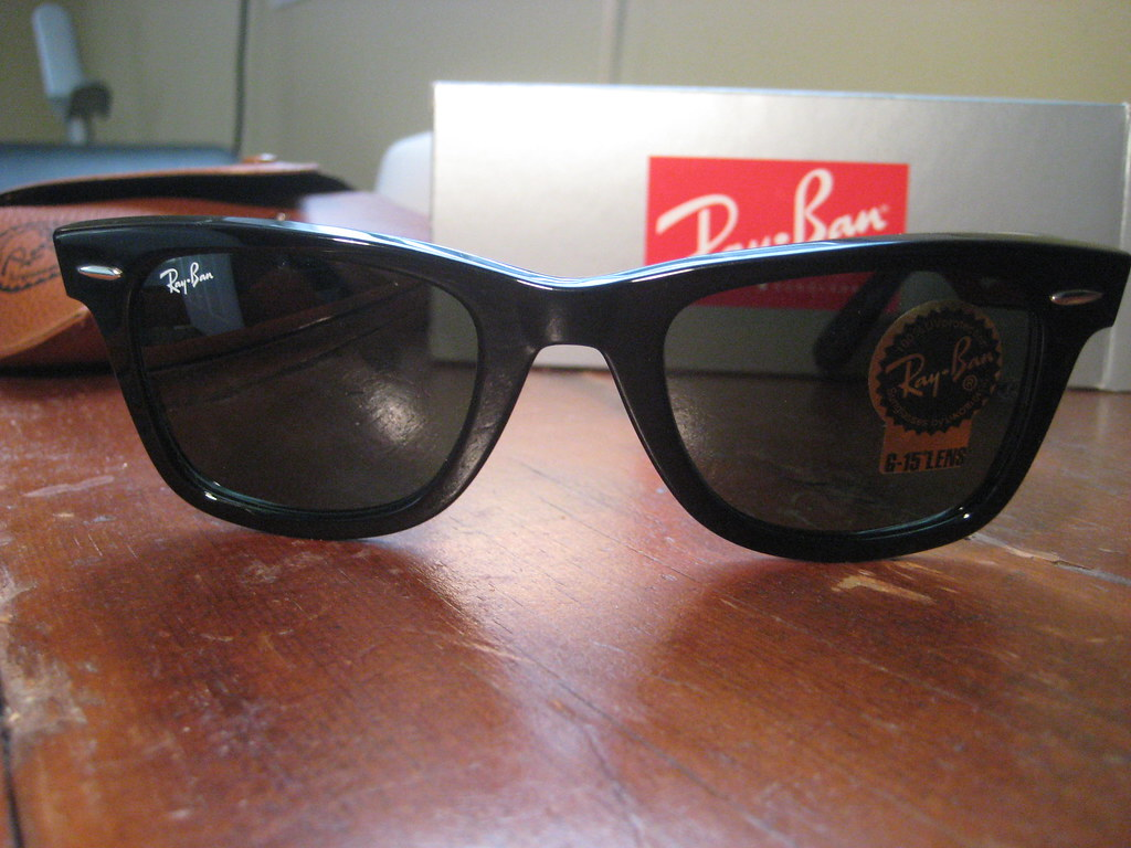 ray ban wayfarer 2140 901 50 22 sunglasses ray ban wayfare flickr. Black Bedroom Furniture Sets. Home Design Ideas