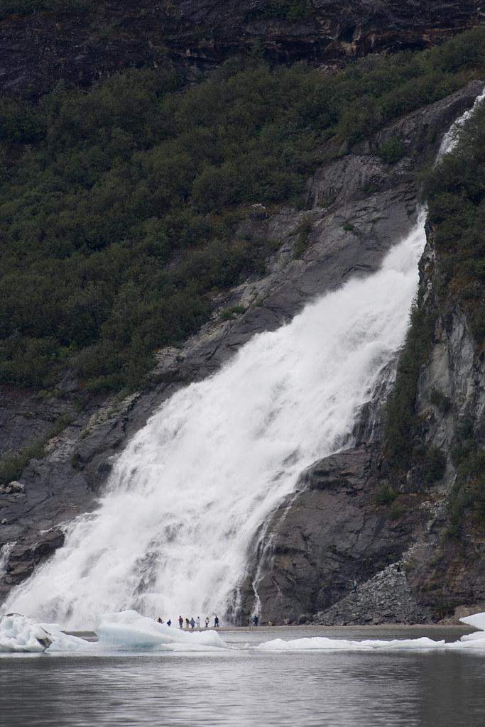 Waterfall Near Mendenhall Glacier | Taken at Mendenhall ...