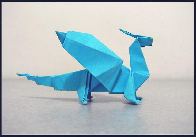 Origami Dragon Alejandro De La Fuente Flickr