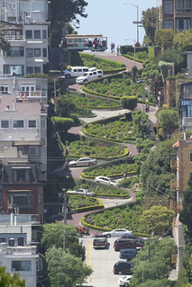 Lombard Street taken with 500mm | by Cameralabs