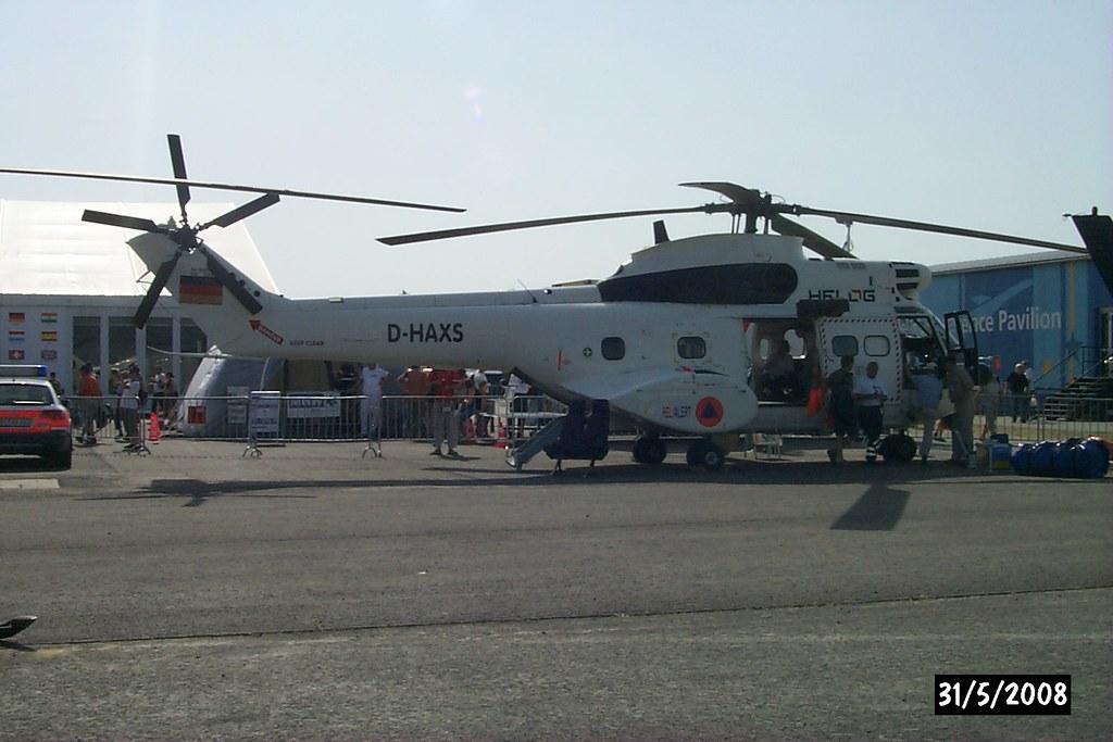 Elicottero Puma : Aerospatiale sa j puma d haxs elicottero pesante